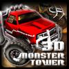3D Monster Truck Tower